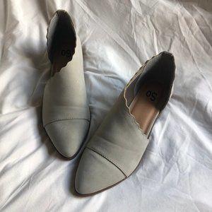 Cutout Flat shoes